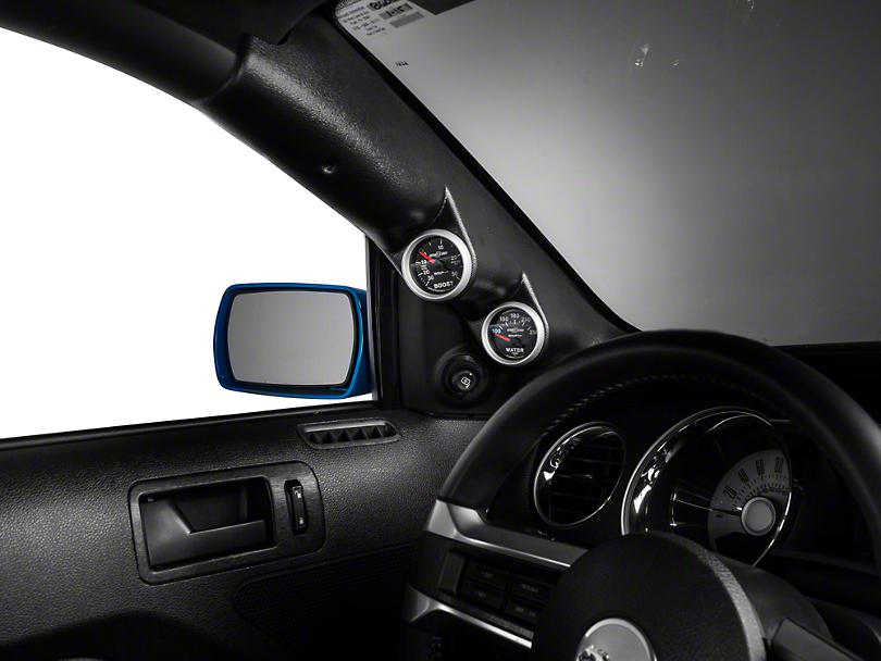 Auto Meter Mustang A Pillar Dual Gauge Pod Coupe 12133