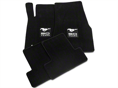 Lloyd Black Floor Mats - 50th Anniversary Logo (05-10 All)