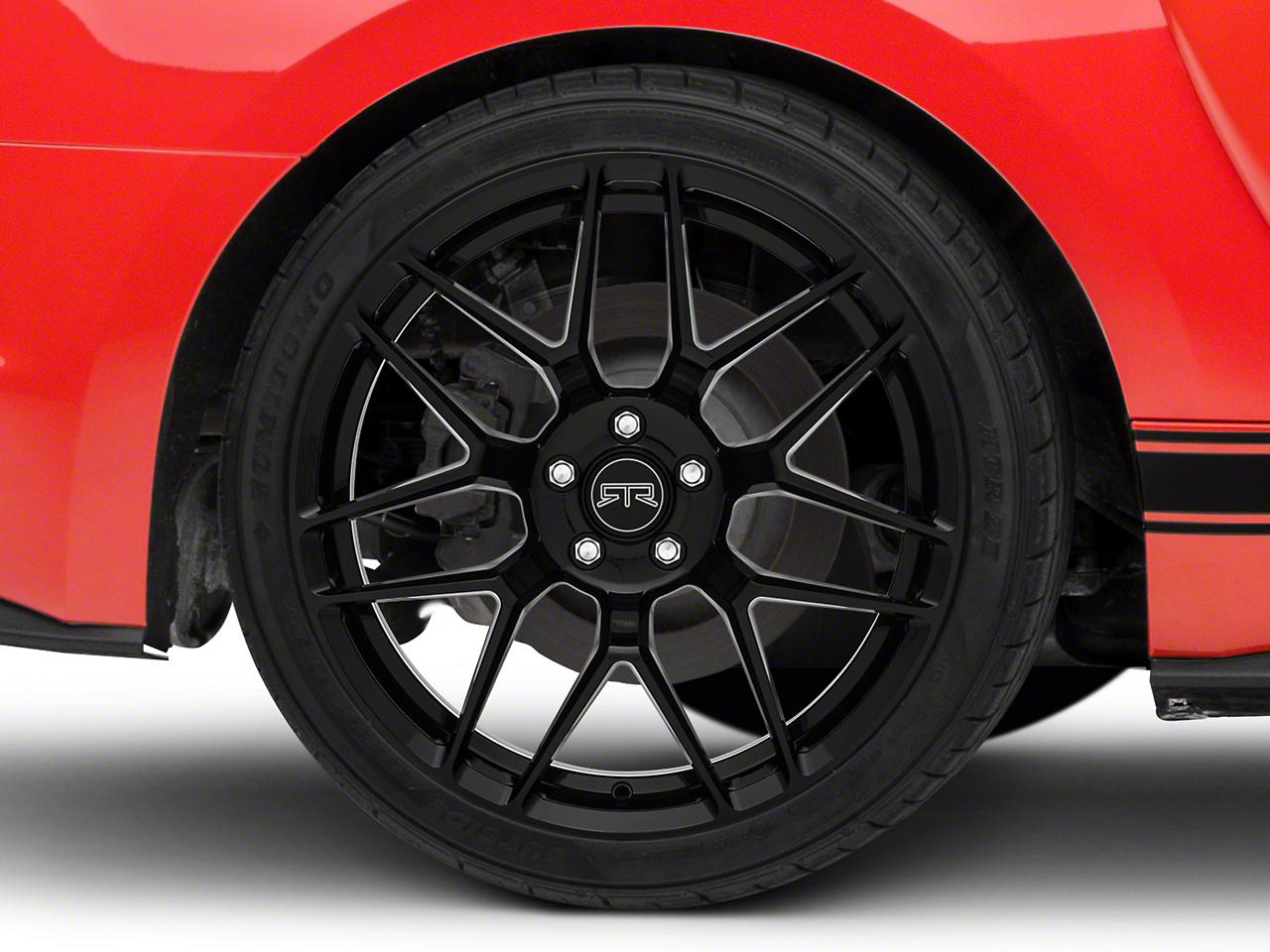 RTR Tech 7 Black Wheel - 20x10.5 (15-17 All)