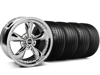 Bullitt Motorsport Chrome Wheel & Falken Tire Kit - 18x9 (94-98 All)