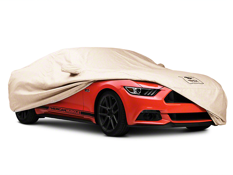 Covercraft Deluxe Custom-Fit Car Cover - 50th Anniversary Logo - Coupe (15-17 All)