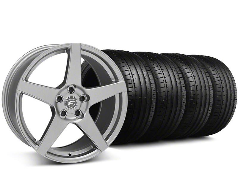 Forgestar CF5 Monoblock Gunmetal Wheel & Falken Tire Kit - 18x9 (94-98 All)