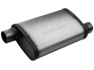Magnaflow Performance Series Offset 4x9 Muffler - 2.25 in. Satin (79-04 All, Excludes 99-04 Cobra)