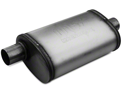 Magnaflow Performance Series Center/Offset 5x8 Muffler - 2.25 in. Satin (79-04 All, Excludes 99-04 Cobra)