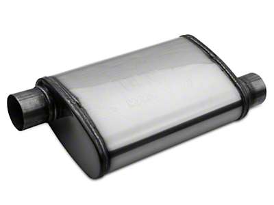 Magnaflow Performance Series Offset 4x9 Muffler - 2.5 in. Polished (79-04 All, Excludes 99-04 Cobra)