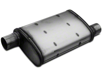 Magnaflow XL Performance Series Offset 4x9 Muffler - 2.25 in. Satin (79-04 All, Excludes 99-04 Cobra)