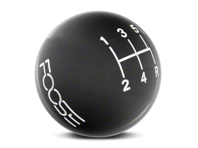 MMD by FOOSE Retro Style 5-Speed Shift Knob w/ FOOSE logo - Black (05-10 GT, V6)