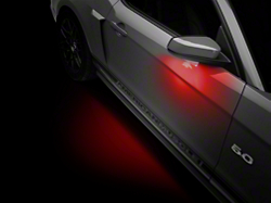 Mustang Puddle Lights Americanmuscle Free Shipping
