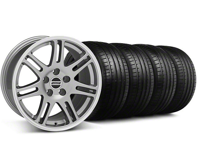 10th Anniversary Cobra Style Anthracite Wheel & Falken Tire Kit - 18x9 (94-98 All)