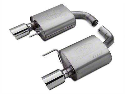 Ford Performance by Borla Touring Axle-Back Exhaust (15-17 GT)