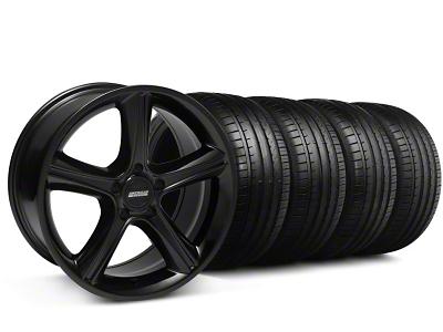 2010 GT Premium Style Black Wheel & Falken Tire Kit - 18x9 (94-98 All)