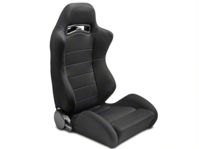Black Racing Seats - Pair (79-14 All)