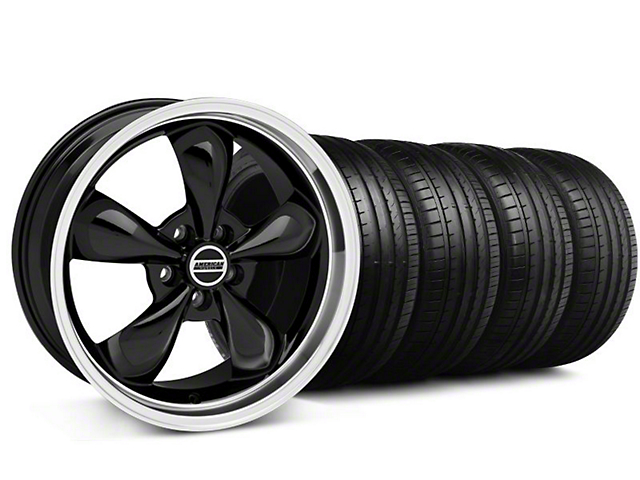 Bullitt Black Wheel & Falken Tire Kit - 18x9 (94-98 All)