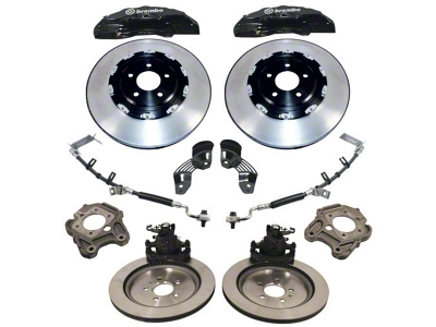 Ford Racing 15 in. 6-Piston Brake Upgrade Kit w/ 2 Piece Rotors (05-14 GT, Bullitt, Boss, GT500)