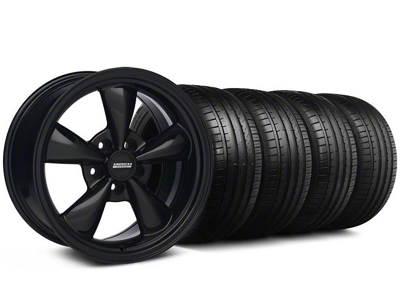 Bullitt All Black Wheel & Falken Tire Kit - 18x9 (94-98 All)