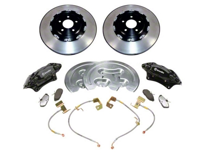 Ford Racing 14 in. SVT Brake Upgrade Kit w/ 2 Piece Rotors (05-14 GT)