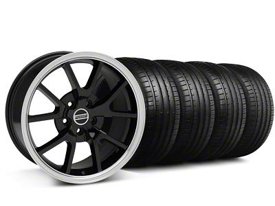 FR500 Style Black Wheel & Falken Tire Kit - 18x9 (94-98 All)