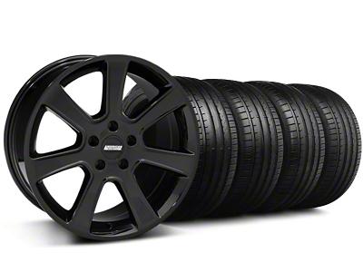 S197 Saleen Style Black Wheel & Falken Tire Kit - 18x9 (94-98 All)