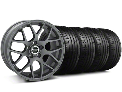 AMR Charcoal Wheel & Falken Tire Kit - 18x9 (94-98 All)