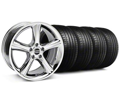 2010 GT Premium Style Chrome Wheel & Falken Tire Kit - 18x9 (94-98 All)