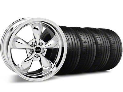 Bullitt Chrome Wheel & Falken Tire Kit - 18x9 (94-98 All)
