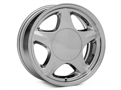 Pony Style Chrome Wheel - 16x7 (87-93; Excludes 93 Cobra)