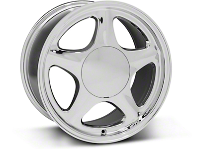 Pony Style Chrome Wheel - 17x9 (87-93; Excludes 93 Cobra)