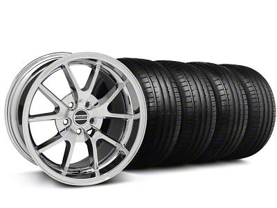FR500 Style Chrome Wheel & Falken Tire Kit - 18x9 (94-98 All)