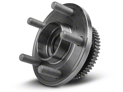 Ford Front Wheel Bearing and Hub Assembly w/ ABS Ring (15-16 EcoBoost, V6, GT)