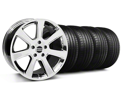 S197 Saleen Style Chrome Wheel & Falken Tire Kit - 18x9 (94-98 All)