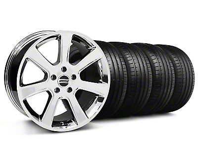 S197 Saleen Chrome Wheel & Falken Tire Kit - 18x9 (94-98 All)