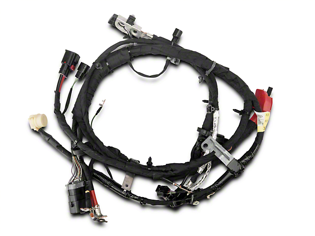 ford mustang battery cable harness automatic wc96379 15 17 v6 ford battery cable harness automatic 15 17 v6