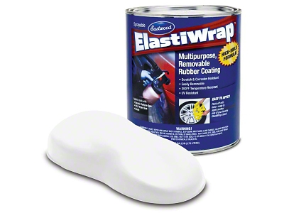 Eastwood ElastiWrap Sprayable Gallon - White Lightning