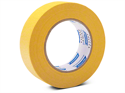 Norton Yellow Crepe Masking Tape - 1.5in. X 180ft.