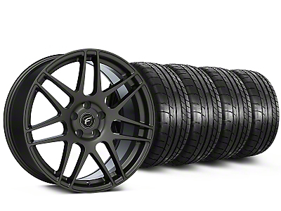Forgestar F14 Monoblock Gunmetal Wheel & Mickey Thompson Tire Kit- 20x9.5 (15-16 All)