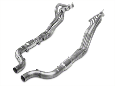 Stainless Works Long Tube Catted Headers - 1-7/8 in (15-17 GT w/ SW Cat-Back)