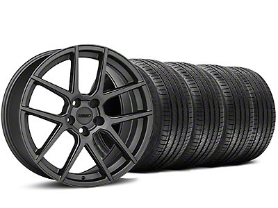 MMD Zeven Charcoal Wheel & Sumitomo Tire Kit - 20x8.5 (15-17 All)
