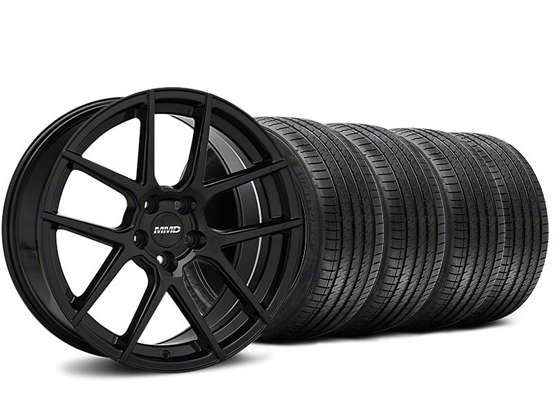 MMD Zeven Black Wheel & Sumitomo Tire Kit - 20x8.5 (15-17 All)