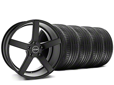MMD 551C Black Wheel & Sumitomo Tire Kit - 20x8.5 (15-17 All)