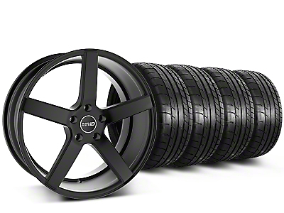 MMD 551C Black Wheel & Mickey Thompson Tire Kit - 20x8.5 (15-17 All)