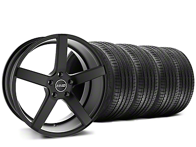 Staggered MMD 551C Black Wheel & Sumitomo Tire Kit - 20x8.5/10 (15-17 All)