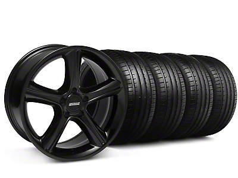 2010 GT Premium Style Black Wheel & Falken Tire Kit - 18x9 (99-04 All)