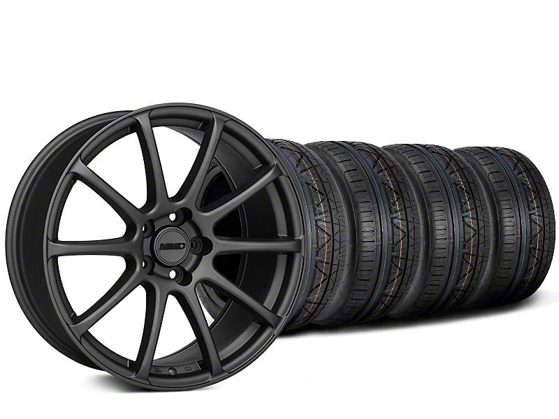 MMD Axim Charcoal Wheel & NITTO INVO Tire Kit - 20x8.5 (15-17 All)