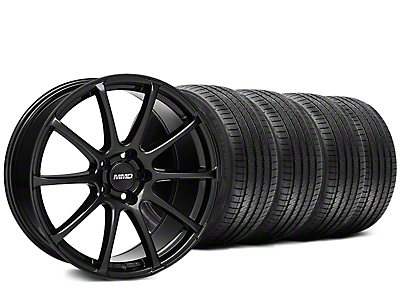 MMD Axim Gloss Black Wheel & Sumitomo Tire Kit - 20x8.5 (15-16 All)