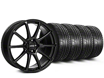 MMD Axim Gloss Black Wheel & Mickey Thompson Tire Kit - 20x8.5 (15-16 All)