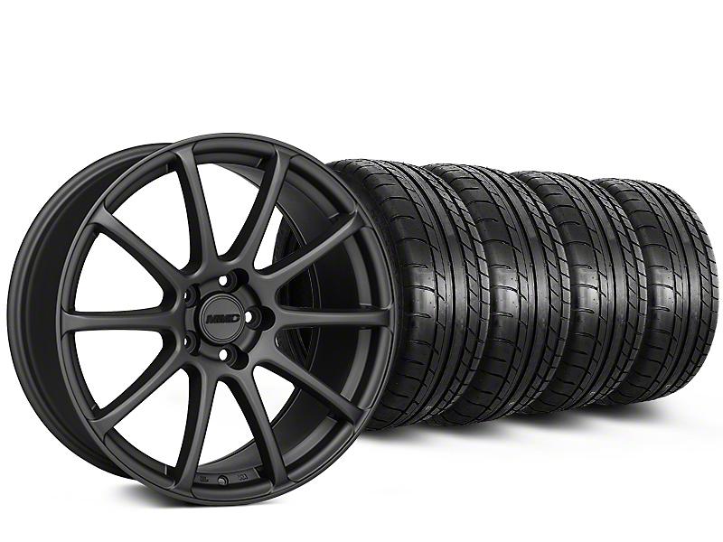 MMD Axim Charcoal Wheel & Mickey Thompson Tire Kit - 20x8.5 (15-17 All)