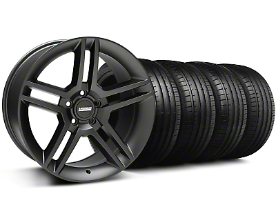 2010 GT500 Black Wheel & Falken Tire Kit - 18x9 (99-04 All)