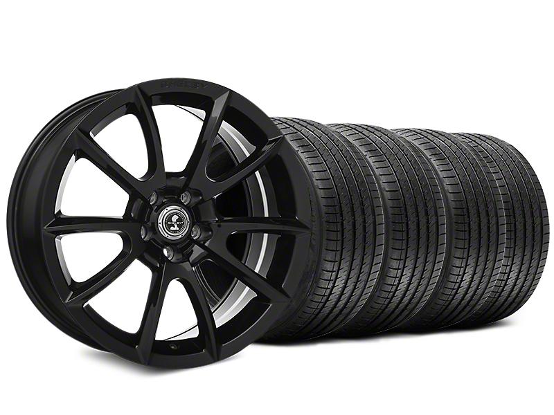 Shelby Super Snake Style Black Wheel & Sumitomo Tire Kit - 20x9 (15-17 All)