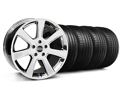 S197 Saleen Chrome Wheel & Falken Tire Kit - 18x9 (99-04 All)