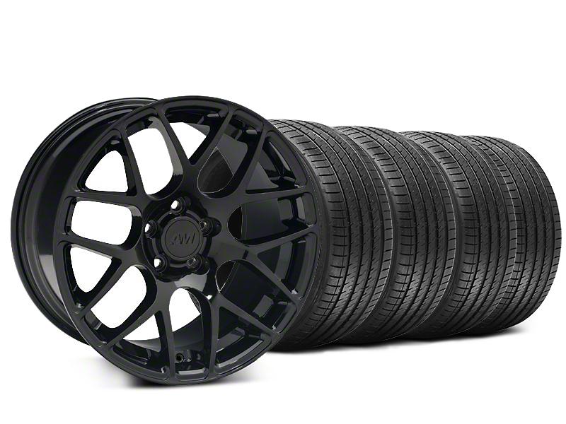 AMR Black Wheel & Sumitomo Tire Kit - 20x8.5 (15-17 All)